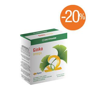 apotekaplus-Dietpharm Ginko Omega
