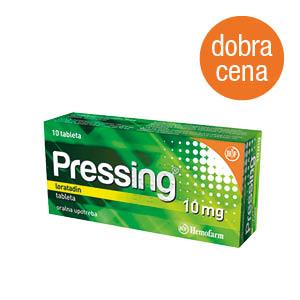 Pressing 10 mg