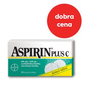 ApotekaPLUS-Aspirin plus C*