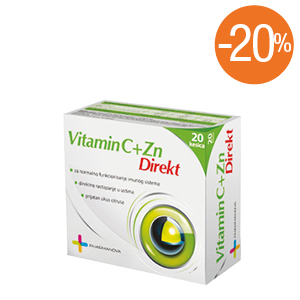 Apoteka plus - vitamin c+cink
