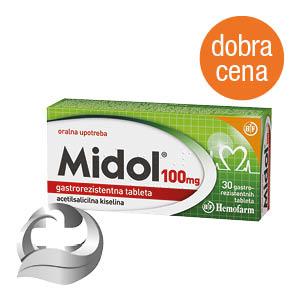 Midol 100 mg
